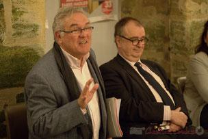 Jean-Marie Darmian, Vice-président du Conseil général de la Gironde, en charge des finances et du budget