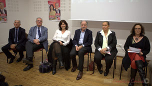 Gérard Poisbelaud, Jean-Marie Darmian, Anne-Laure Fabre-Nadler, Noël Mamère, Martine Faure, Mathilde Feld