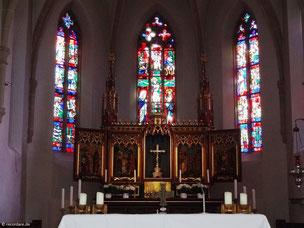 Spätgotischer Hochaltar, St. Johannes Baptista