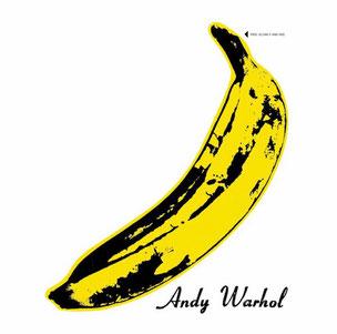 """Revolution bei der Cover-Gestaltung! Im Jahr 1967 veröffentlicht Pop Art-Tausendsassa Andy Warhol die LP """"The Velvet Underground & Nico"""""""