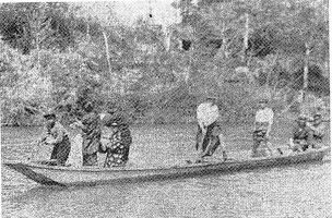 昭和5年以前の渡し舟