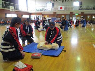川崎町婦人消防協力隊 一関市消防団川崎地域消防演習