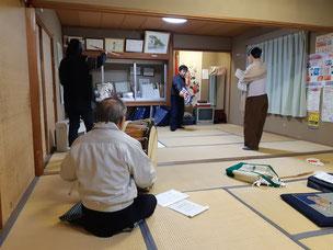 藤沢 一関 増沢神楽保存会 定期練習 神楽
