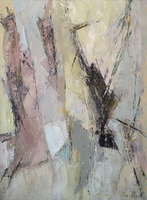 FOURTINA-Chaval. Bordeaux. Moderne. Abstraction. 1950.