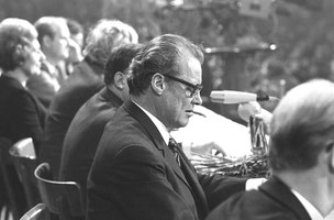Siebrand Rehberg - SPD Wahlveranstaltung mit Willy Brandt im Berliner Sportpalast 1972