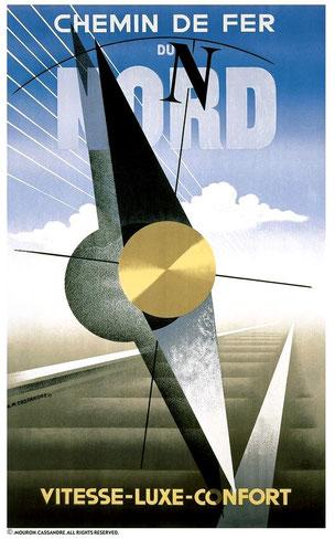 Affiche de Cassandre (1929)