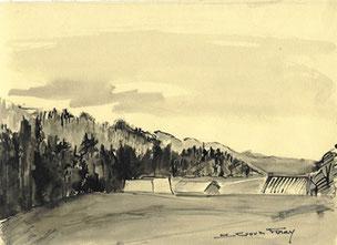 Plateau de Retord par Suzanne Goux-Foray