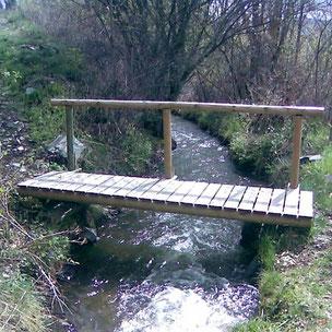 Camí de l'aigua de Bolvir - Pont de la sèquia