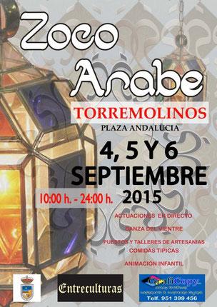 Zoco Árabe en Torremolinos Programa