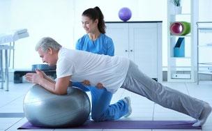 Physiotherapie: hier mehr erfahren