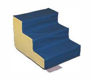 Escalier 3 marches sans PVC Sarneige Maternelle pour enfants à acheter pas cher. Matériel de motricité Sarneige Escalier 3 marches sans PVC Sarneige Maternelle au meilleur prix.