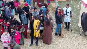 Средневековая ярмарка в Вике, декабрь