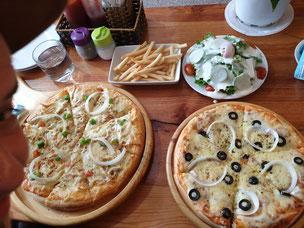 Pizza in Da Lat Vietnam
