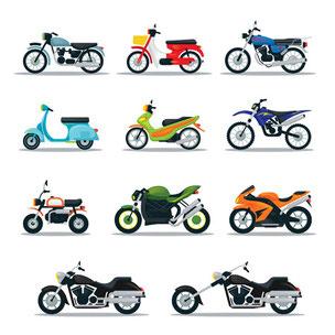 Motorradauswahl