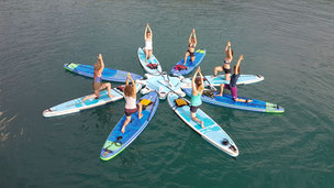 SUP Yoga im SUPoint