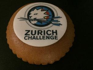 Biber mit Logo Zurich Challenge