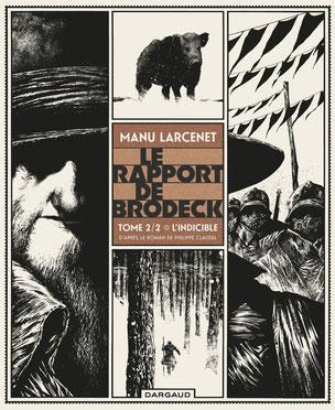 Couverture : Le rapport de Brodeck Tome 2