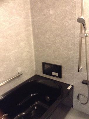 岐阜・愛知の皆様、浴室を一番落ち着ける空間に!テレビ付きお風呂のリフォーム