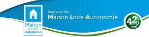 Logo Maison Loire Autonomie, MDPH, département de la Loire 42