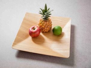 Obst- und Dekorationsschale aus Eiche 29,00 Euro