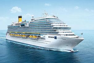 Zauberhaftes Mittelmeer mit Costa Diadema, 7 Tage ab 299 €