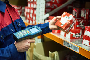 Barcode, RFID, Kontraktlogistik, Warehouse, WMS, Lagerverwaltungssoftware, LVS