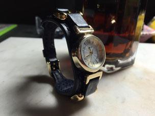 漉き機ご導入後、初作品の腕時計~Ayaka Speceial~
