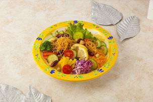 野菜と豆のサラダ