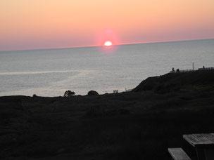 Sonnenaufgang am Cape Spear, dem östlichsten Punkt des amerikanischen Kontinents