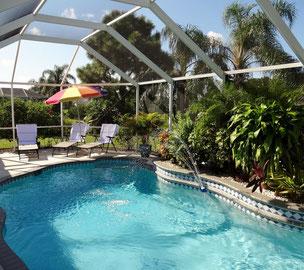Villa Catch the Sun - Pool und Sonnenterrasse
