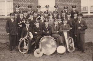 Mitglieder um 1936: Musikverein Birgden