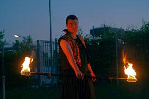 Pyrometheus, Firmenfeier, Feuershow, KAD, Event