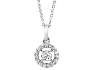 ダイヤモンド 1ct VSクラス  メレD Pt ネックレス