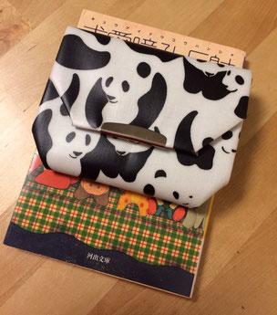 パンダ柄財布