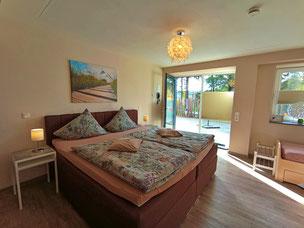 komfortabel ausgestattete Gästezimmer bei Monschau