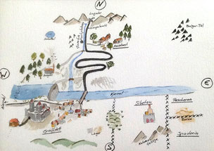Karte von Graiffstett