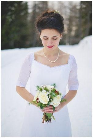 Robe de mariée hiver sur mesure toulouse