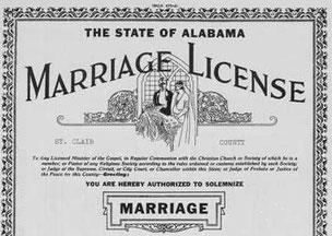 アメリカ結婚手続き