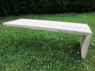Table Frêne pied en Verre