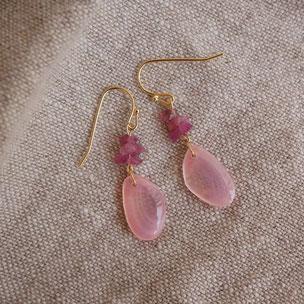さくらひとえ 鎌倉の桜貝 アクセサリー ピアス