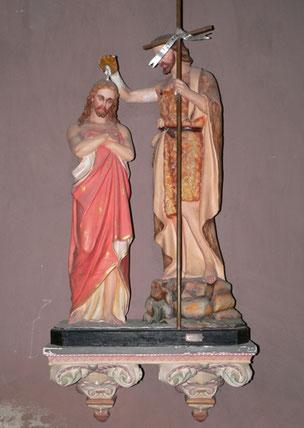 Casaglione-groupe sculpté du Baptême du Christ- cl.mh