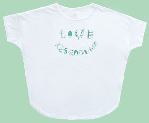LOVE KESENNUMA  ドルマン Tシャツ