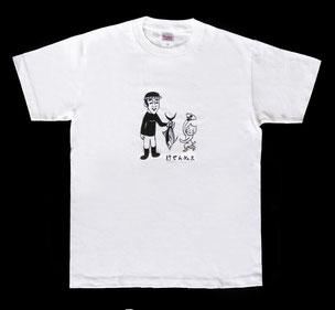 かつおのおっさん _Tシャツ(半袖) ホワイト