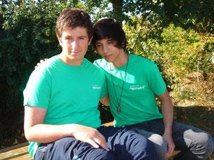 Furkan Agtas und Kevin Balcik (Schuljahr 2012/2013)