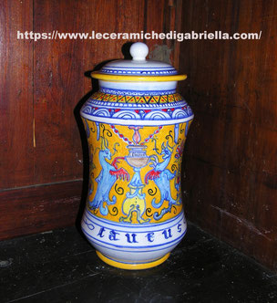 albarello vaso speziale