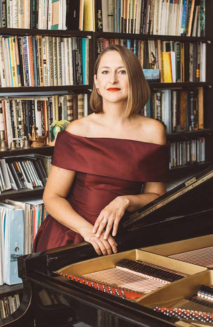 Die Pianistin Kadri-Ann Sumera