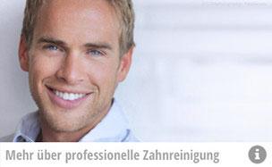 Was ist eine professionelle Zahnreinigung (PZR)? Wie läuft sie ab? Die Zahnarztpraxis Thiemann in München-Sendling informiert! (© CURAphotography - Fotolia.com)