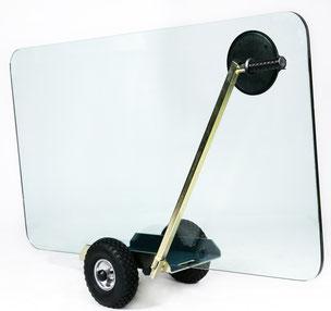TS 400 Air Glastransportwagen luftbereift bis 400 kg Tragkraft  transportsolution  Plattentransportwagen, Glaswagen, Glastransportwagen, Glas-Transportwagen, Glas, Transportwagen, Transporthilfe, Scheibenwagen, Plattenwagen, Elementewagen, Glastransport,