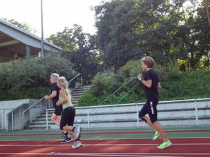 Lauf ABC im Stadion Viernheim