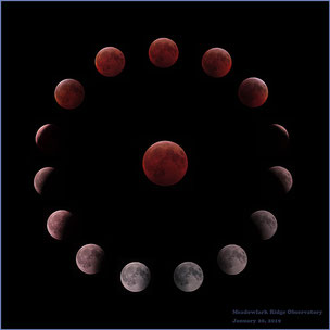 Lunar Eclipse January 20, 2019